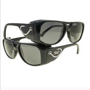 Black Flys Polarized Fishing Fish Hook Glasses